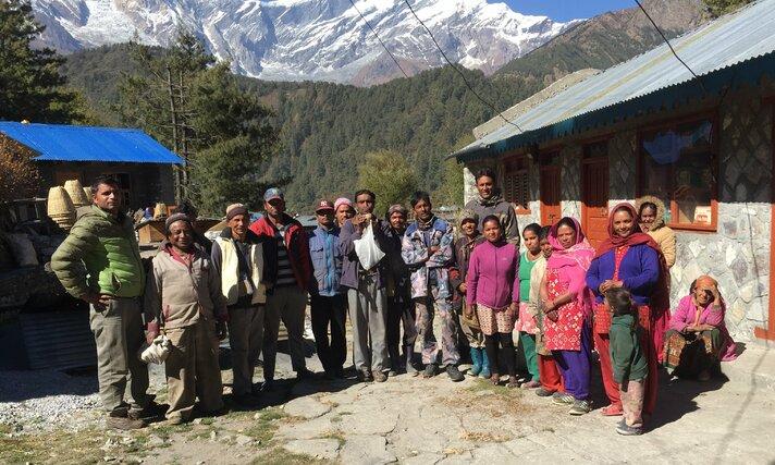 Bescherming beren in Nepal